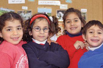 Kindergarten Talitha Kumi in Palästina bei Bethlehem