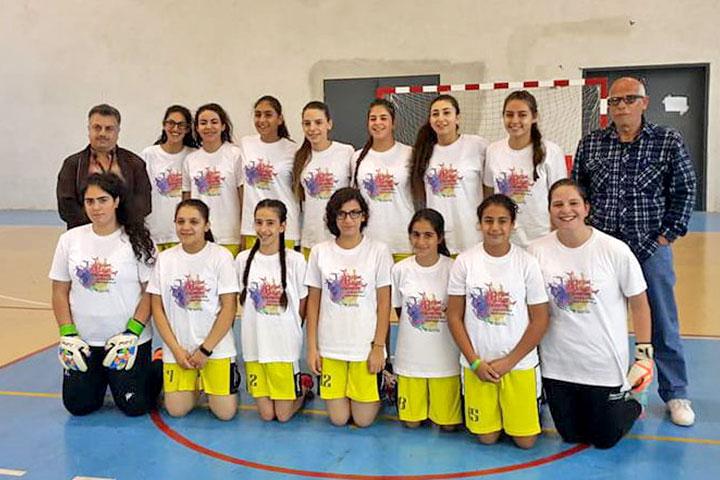 Mädchen-Fußballmannschaft von Talitha Kumi